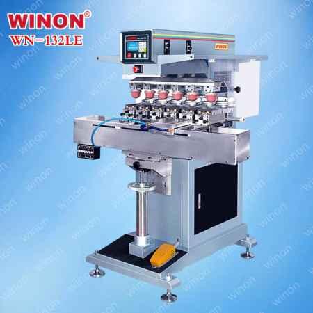 200型油盅式六色移印机